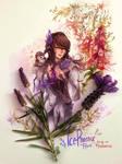 Comm: Lavender Au Ra