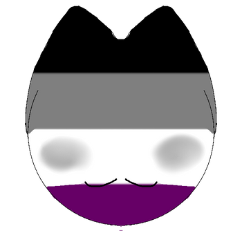 Asexual Kitty Icon by 0ppositeCreations