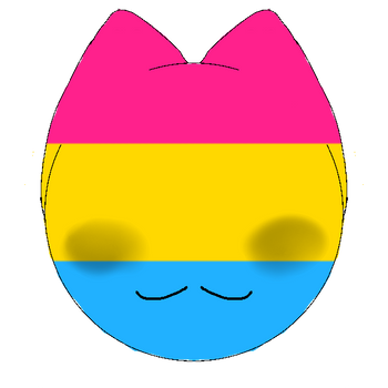 Pansexual Kitty Icon  by 0ppositeCreations