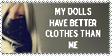 Better Clothes.. by EllenMac