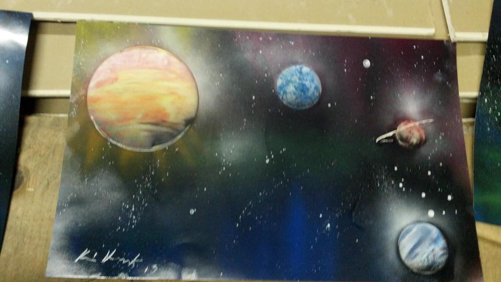 My Spray Paint Art 1 By Highteck9 On Deviantart