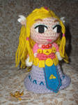 Zelda amigurumi, inspired toon Zelda