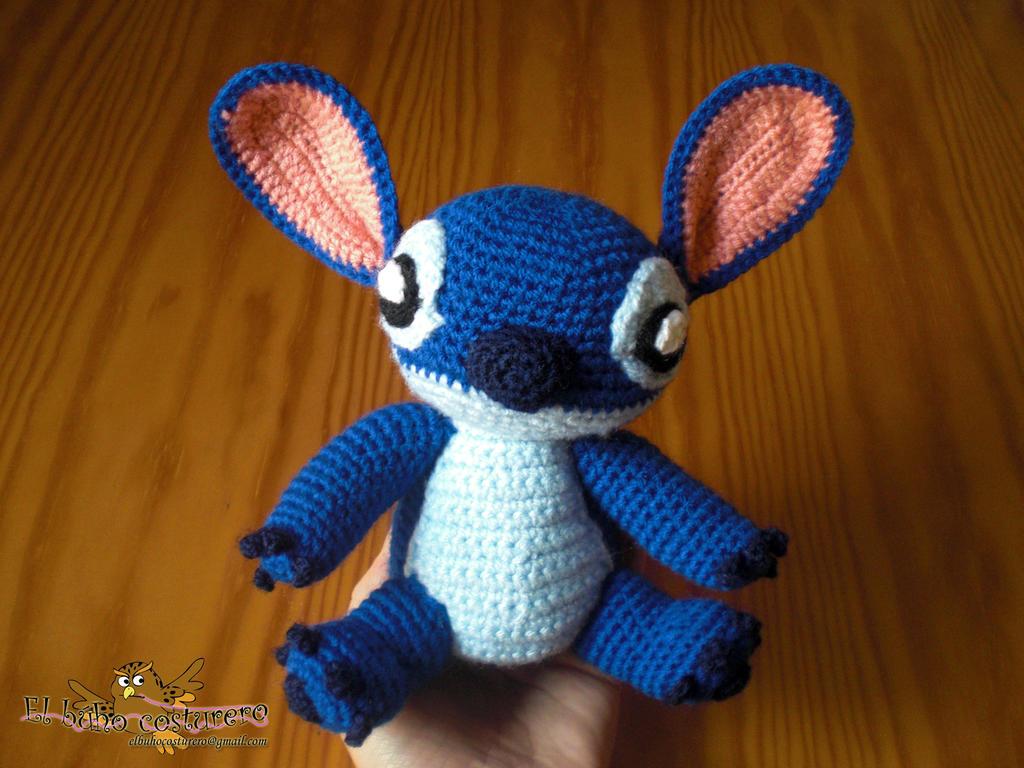 Amigurumi Stitch by elbuhocosturero on DeviantArt
