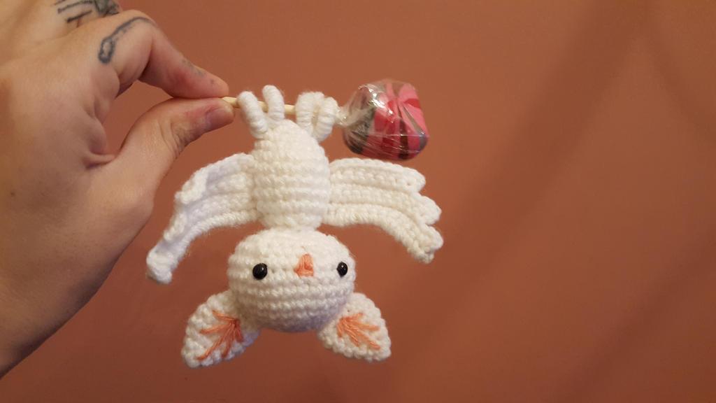 Amigurumi Forum Net : Kawaii albino bat amigurumi by elbuhocosturero on deviantart