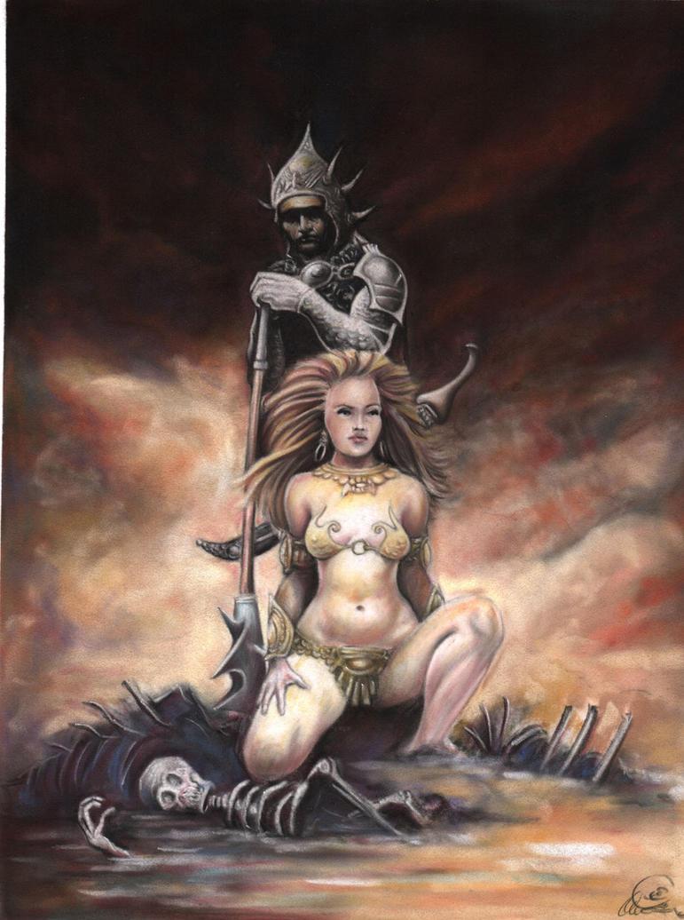 Fantasy art nude warrior babe pics nude drunk pornstar