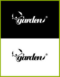 Garden logo for mine portfolio