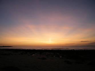 Llandanwg Sunset Afterglow by VampireBait
