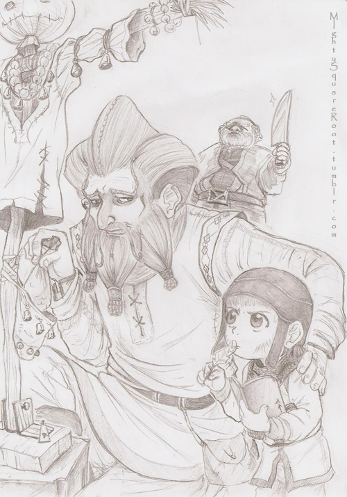 Ri brothers sketch by Isis-90