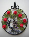 Fairy of the Roses Tree of Life *SOLD*