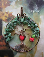 'The Giving Tree' *SOLD* by RachaelsWireGarden