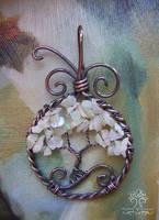 Opal Tree *SOLD* by RachaelsWireGarden