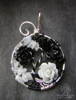 Flowers of Harmony *SOLD* by RachaelsWireGarden