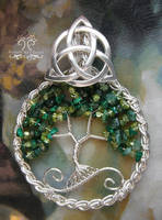Celtic Forest *SOLD* by RachaelsWireGarden