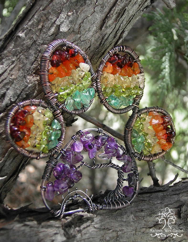 Rainbow Bridge *SOLD* by RachaelsWireGarden
