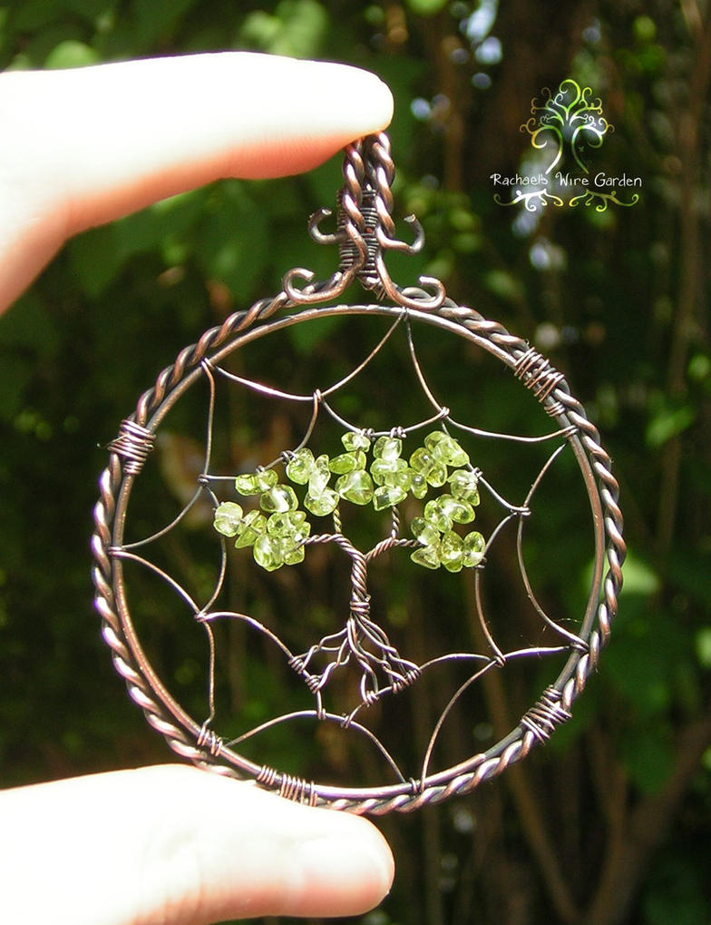 Dreamcatcher sold by rachaelswiregarden on deviantart for How to make a wire tree of life sculpture
