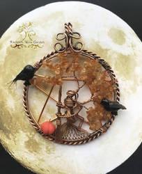 Samhain by RachaelsWireGarden