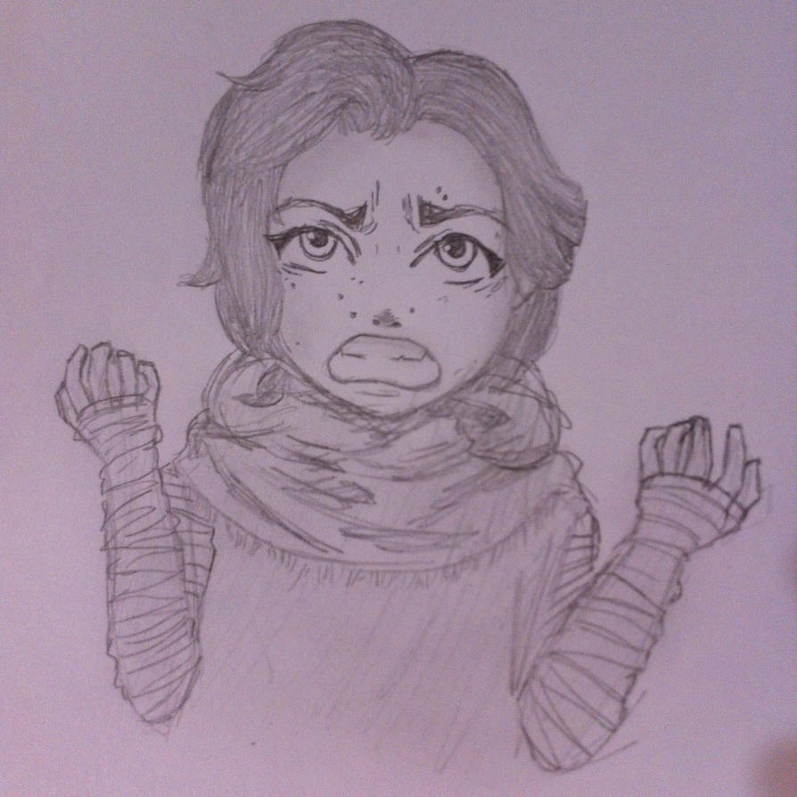 little Kylo sketch by lady-yuna-chi