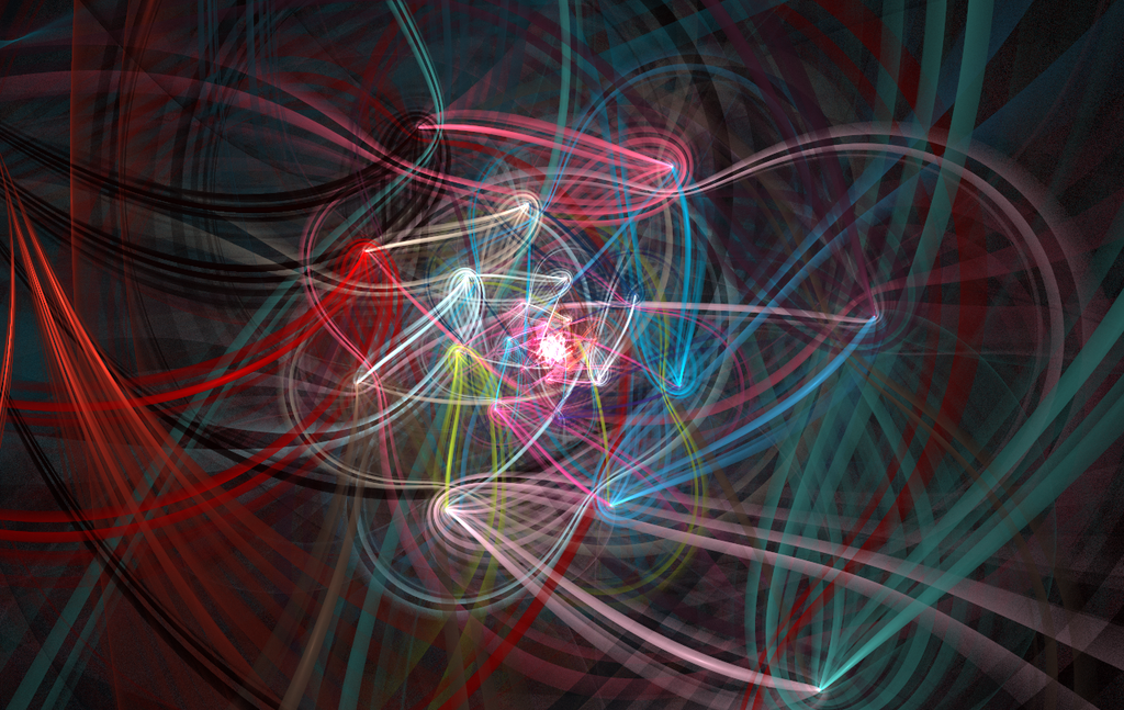 String woven flower yuki mizuno fractal art for How to weave a net with string
