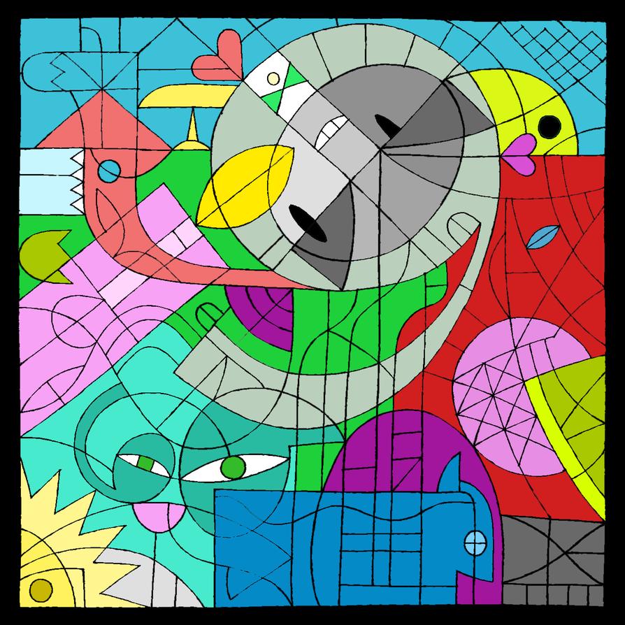 Coloring dA's Birthday by YukiMizuno