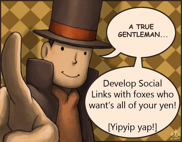 A True Gentelman - Social Links by YukiMizuno