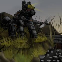 Steel Ranger Crusader [FoE] by DevorierDeos