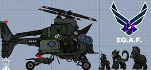 Vertibuck Equestrian Air Force [FoE]
