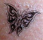 Butterfly Tattoo by poetrylion93