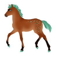 N3950 Padro Foal Design
