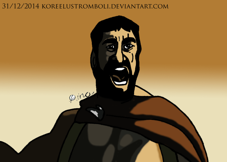 300th Deviation Special: Leonidas by KoreeluStromboli