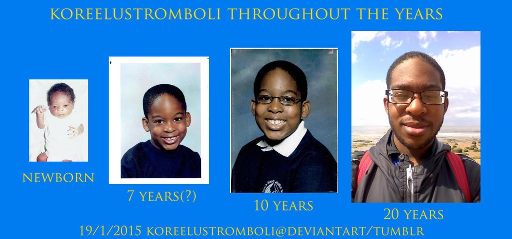 Me Throughout the Years by KoreeluStromboli