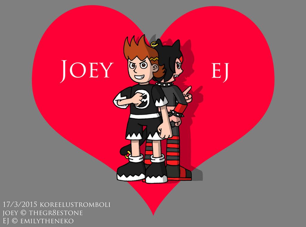 Joey and EJ by KoreeluStromboli