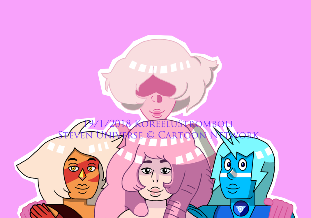 Pinkilocks and the Three Quartzes by KoreeluStromboli
