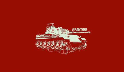 tank panther by dimadiz