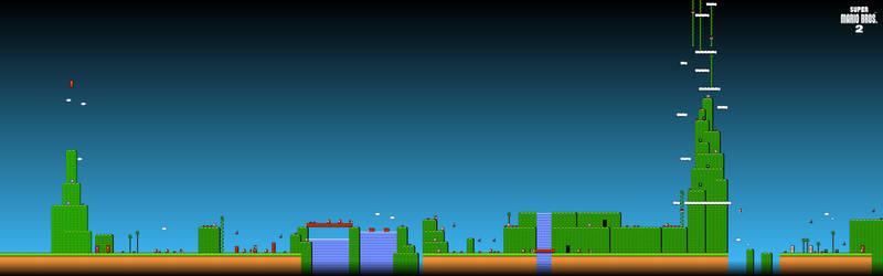 Super Mario Bros 2 Dual 3840