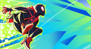 Miles Morales by ZigiaInfinite