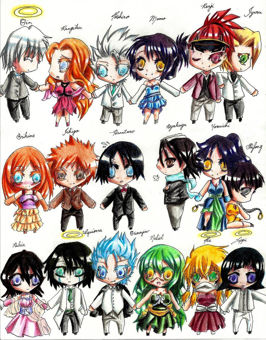 Bleach Chibi All Characters