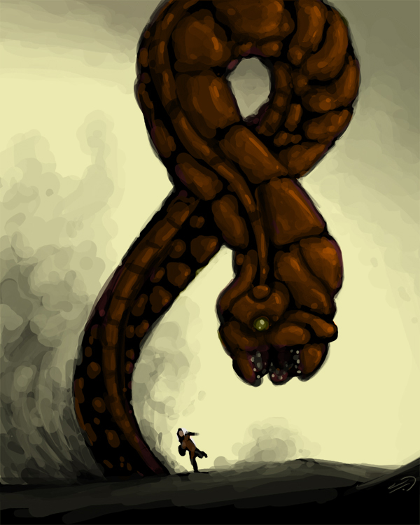 Sand Worm by JesterCapp