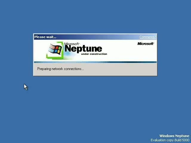Windows Unreleased Neptune 215427061 on Number One 1 Activity