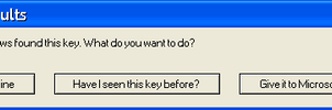 WinXP Error Message by Me