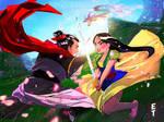 Mulan vs Shang