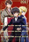 2017 Anime Calendar Yaoi 09 (Eng-Spa)