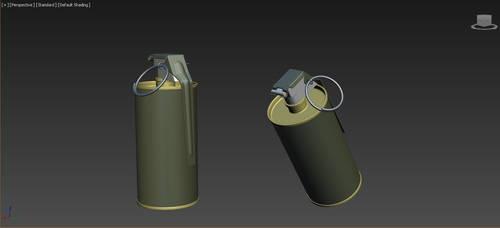 M18 SmokeGrenade HighPoly by MirceaPrunaru