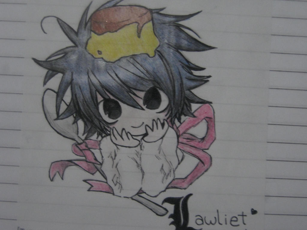 L Lawliet Chibi by KuroeHaku on DeviantArt