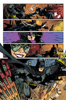 Color comic page - batman by LuizFV