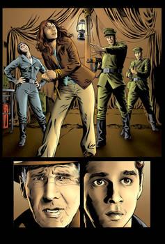 Color Page - Indiana Jones 3