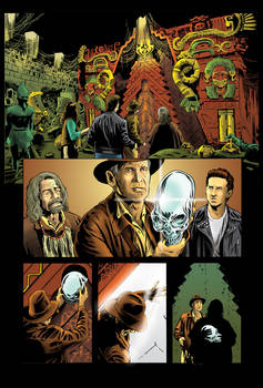 Color Page - Indiana Jones 4