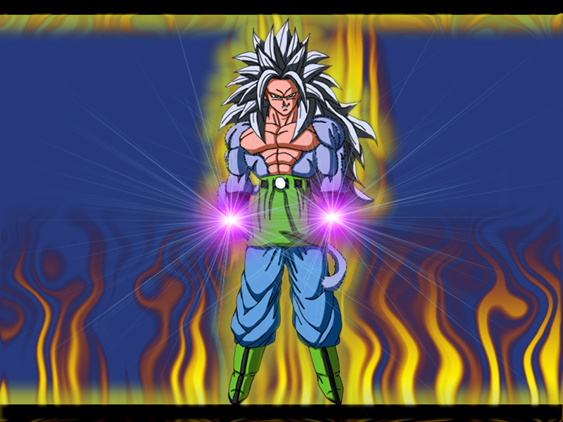 Goku Ssj5 By 123yas On Deviantart