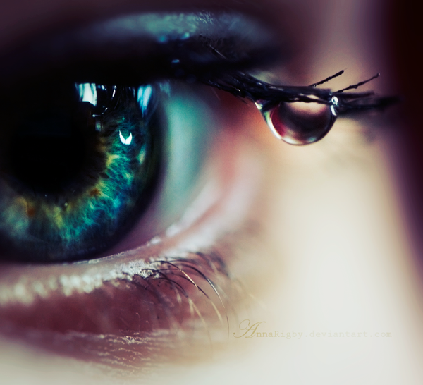 Not all tears are an evil by Annarigby