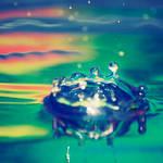 Landscape of Liquid Colors