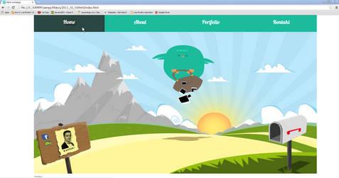 mc-comic website design by mc-comic